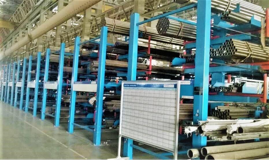 Bar Storage Rack