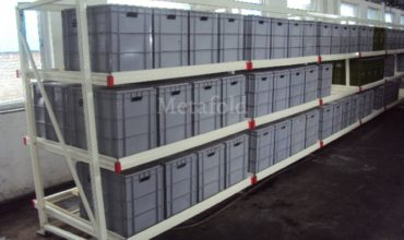 Bin Storage Rack