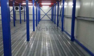 Mezzanine Supported Warehouse
